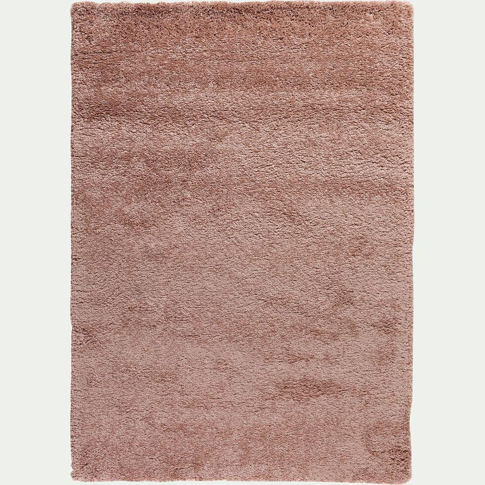 Tapis à poils longs - rose 120x170cm-Kris