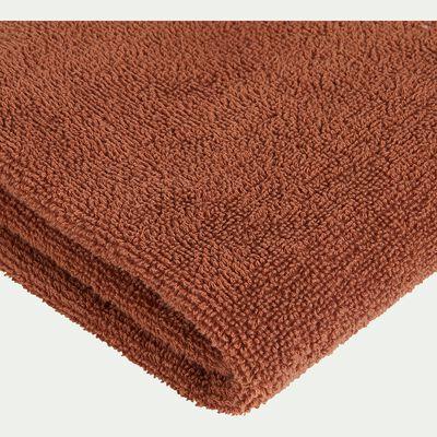 Drap de douche 65x125cm marron-BAHA