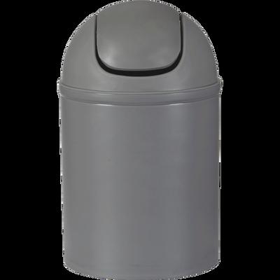 Poubelle de salle de bains 5L grise-SOFT
