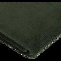 Drap de douche en coton 70x140cm vert cèdre-AZUR