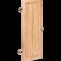 Porte pleine coloris chêne clair-Biala