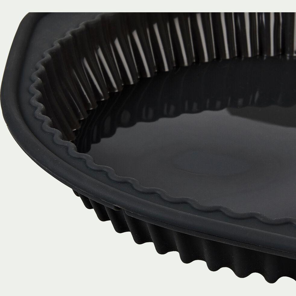 Moule à tarte en silicone gris D24cm-IRAU