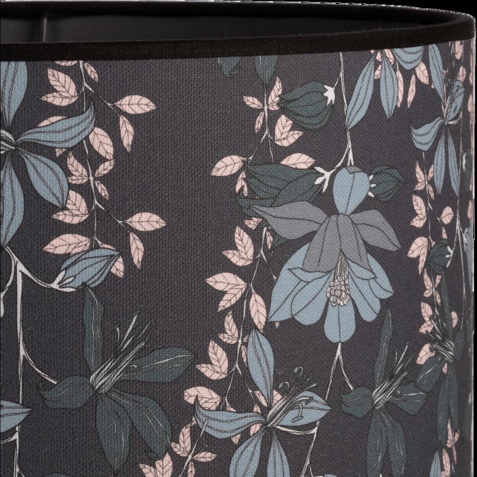 Abat-jour fleuri D40cm-JARDIN