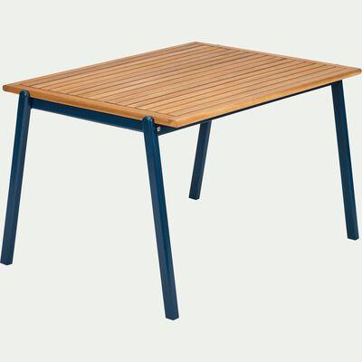 Table de jardin enfant 50x82x60cm bleu figuerolles-MAXIME
