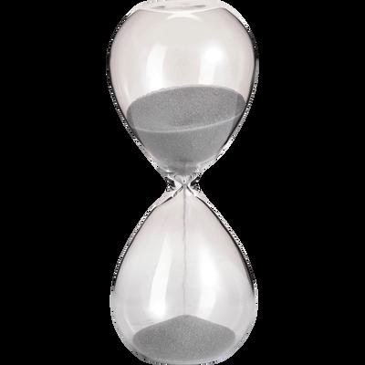 Sablier en verre H12cm-LINI