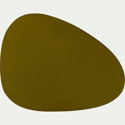 Set de table en caoutchouc vert 30,5x39cm-ALMA