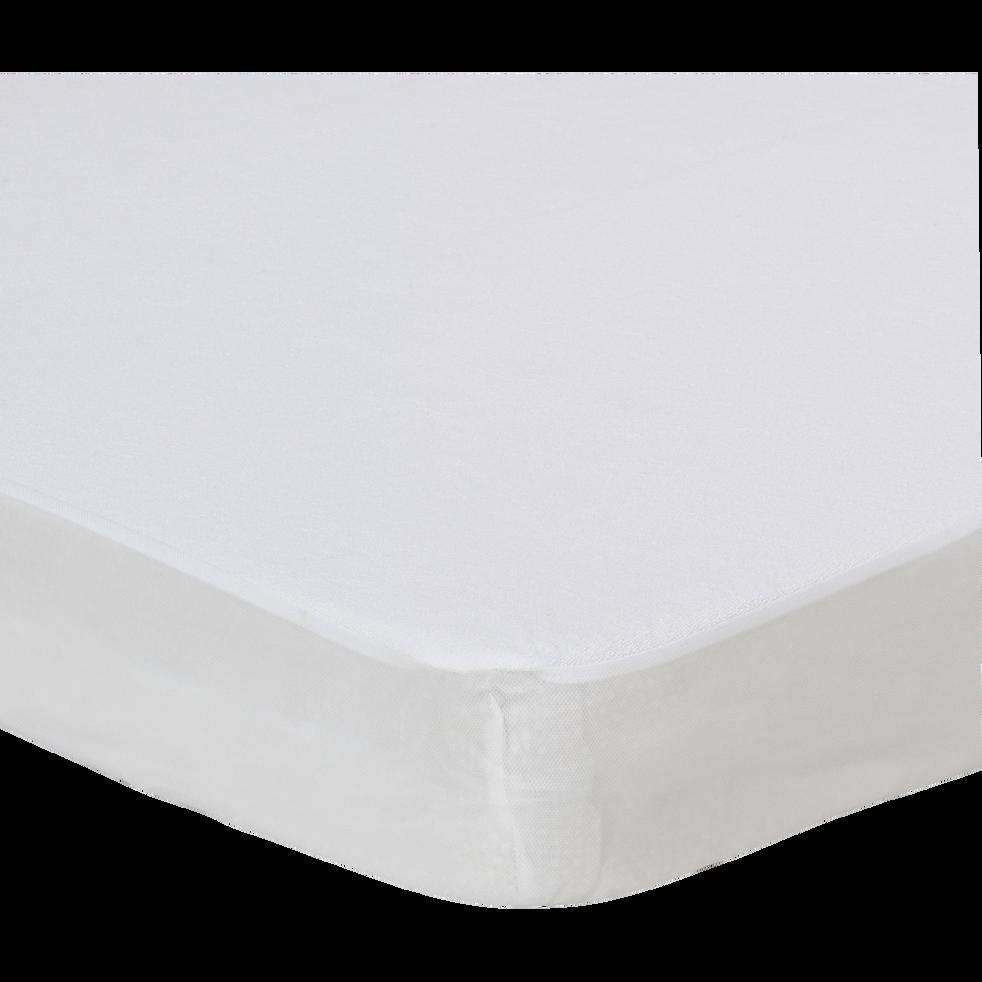 Protège-matelas imperméable en coton 160x200 cm bonnet 28cm-Healthy