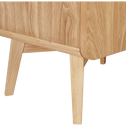 Commode 5 tiroirs Bois clair-SILVE