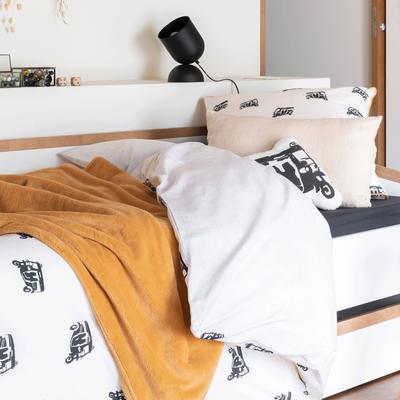 Housse de couette enfant 140x200cm et une taie d'oreiller-SOCOA