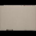 Housse de tête de lit finition lin Beige pour lit L140 cm et L160 cm-PEPS