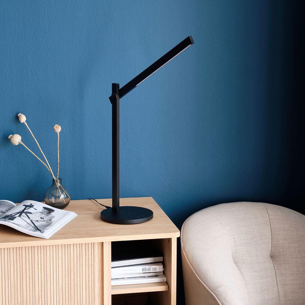 Lampe de bureau avec variateur - noir H42,50cm-LUCIANA