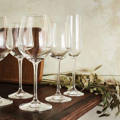 Service de coffrets de verres en cristallin