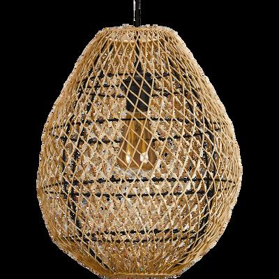 Suspension en bambou D35xH40cm-NEAL