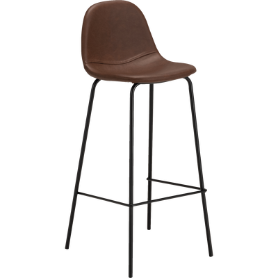 Chaise de bar rétro - h75cm-CHARLOTTE