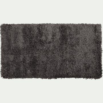 Descente de lit à poils longs gris 60x110cm-Kris