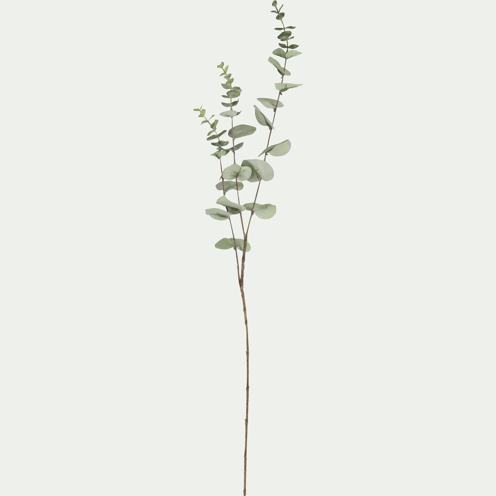 Tige artificielle eucalyptus - vert H84cm-EUCALYPTUS