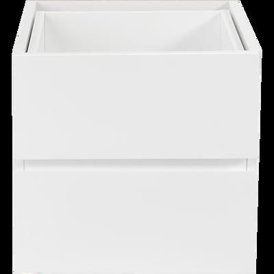 Bloc de 2 tiroirs blancs-Lorena