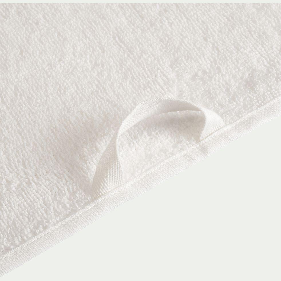 Drap de bain en coton - blanc ventoux 100x150cm-Rhodes