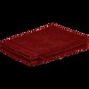 Lot de 2 gants de toilette rouge sumac-ARROS