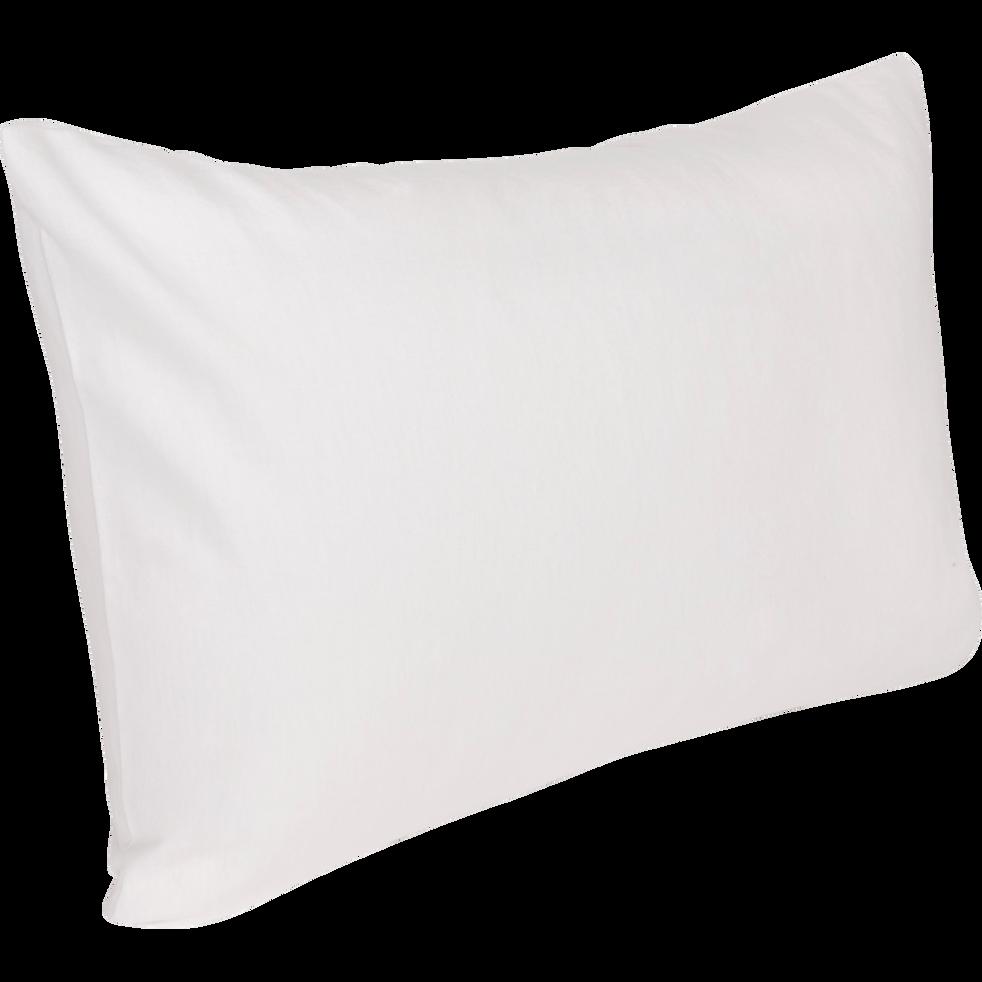 prot ge oreiller en coton trait aegis 50x70 cm hewa 50x70 cm alinea. Black Bedroom Furniture Sets. Home Design Ideas