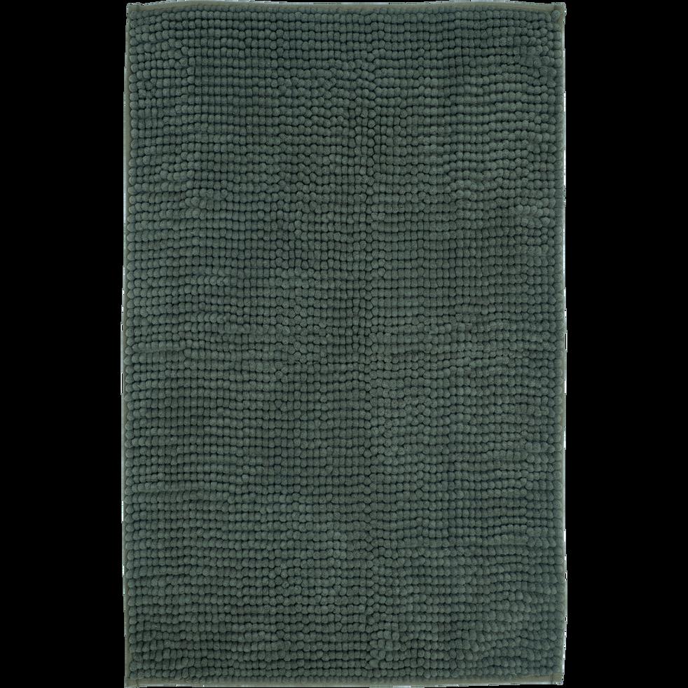 PICUS - Tapis de bain polyester 50x80cm vert cèdre