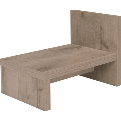 Table de chevet finition chêne cendré-BROOKLYN