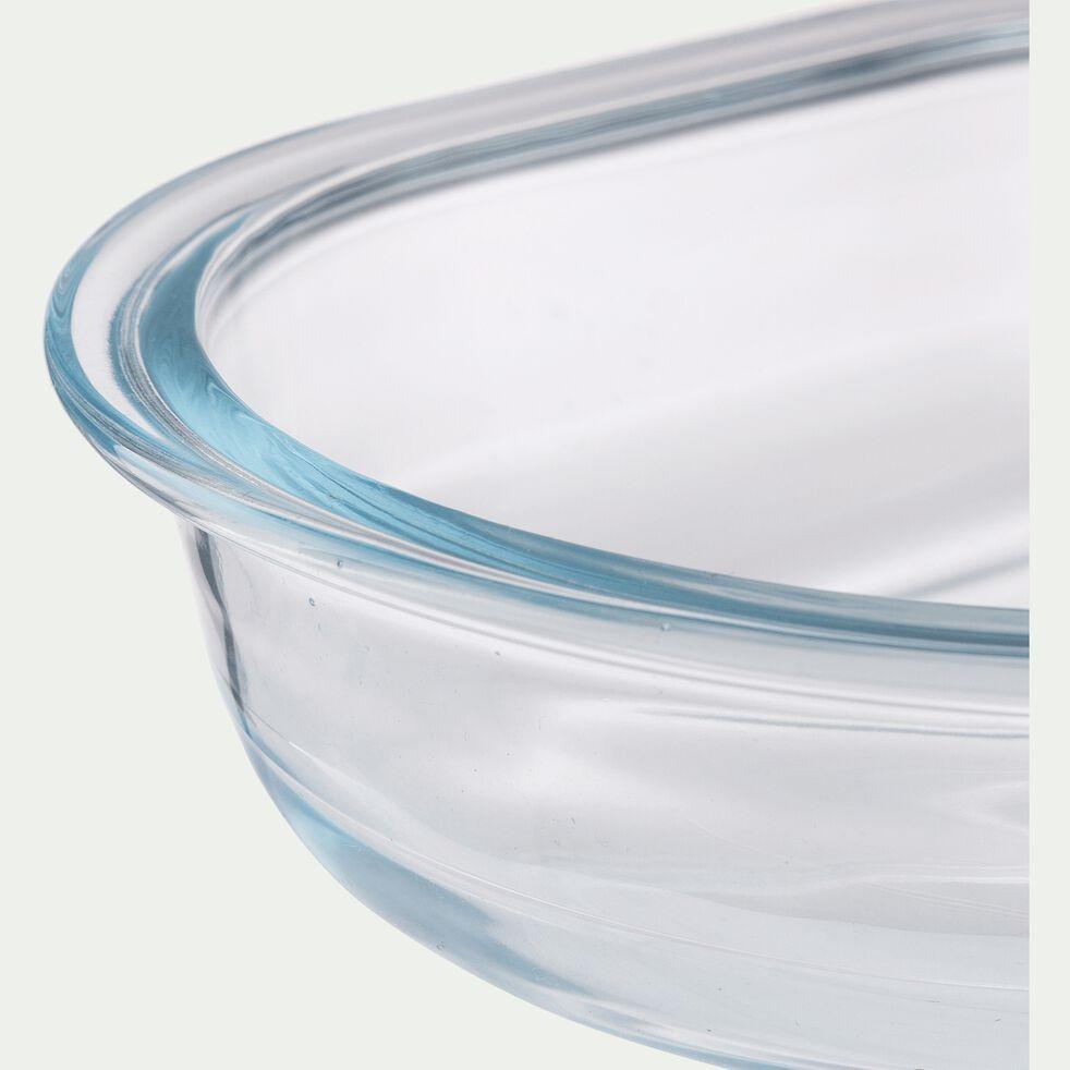 Plat à gratin en verre borosilicate 0,5L-AZET