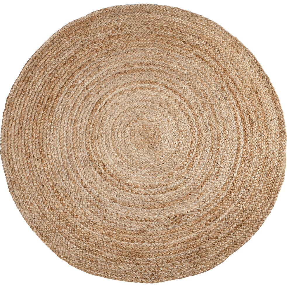 tapis rond en jute d90cm rush 90 cm catalogue storefront alin a alinea. Black Bedroom Furniture Sets. Home Design Ideas