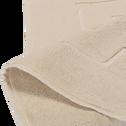 Tapis de bain en coton 50x80cm beige roucas-AZUR