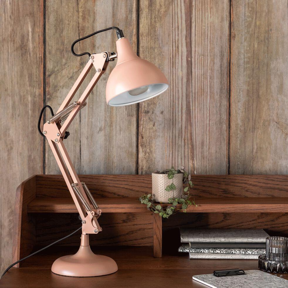 Lampe en métal grège H65x12cm-XXL