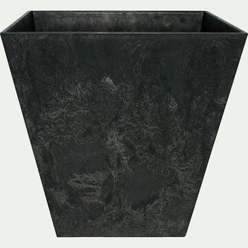 Pot à réserve d'eau - noir H20cm-Ella