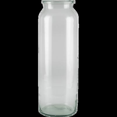 vase en verre transparent plusieurs tailles ajja catalogue storefront alin a alinea. Black Bedroom Furniture Sets. Home Design Ideas