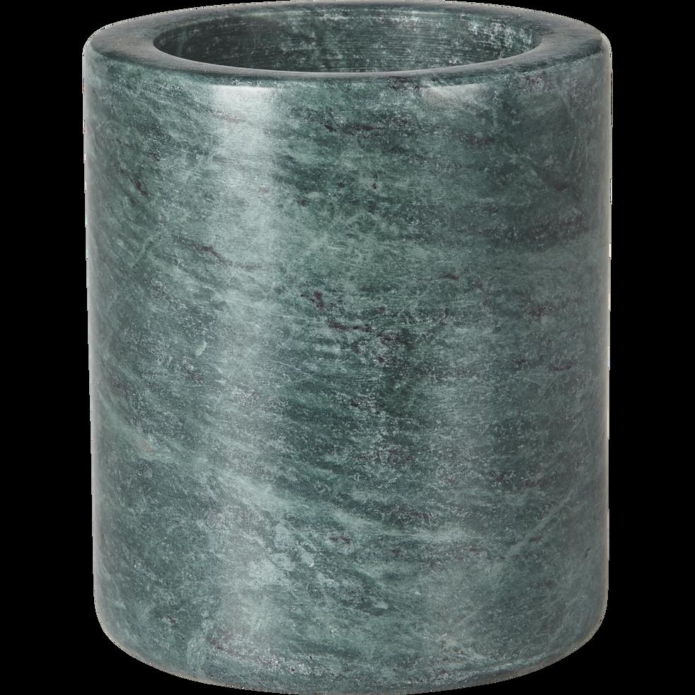 Pot en marbre vert-EULALIE