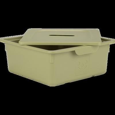 Tiroir de rangement 10L vert garrigue-ZACCHARIE