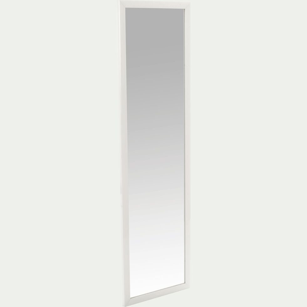 Miroir rectangulaire blanc (30x120cm)-Chipi