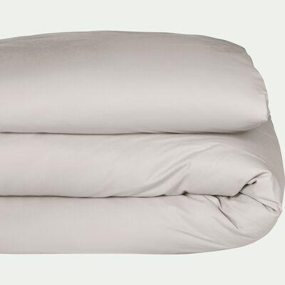 Housse de couette enfant en coton lavé beige roucas 140x200cm-CALANQUES