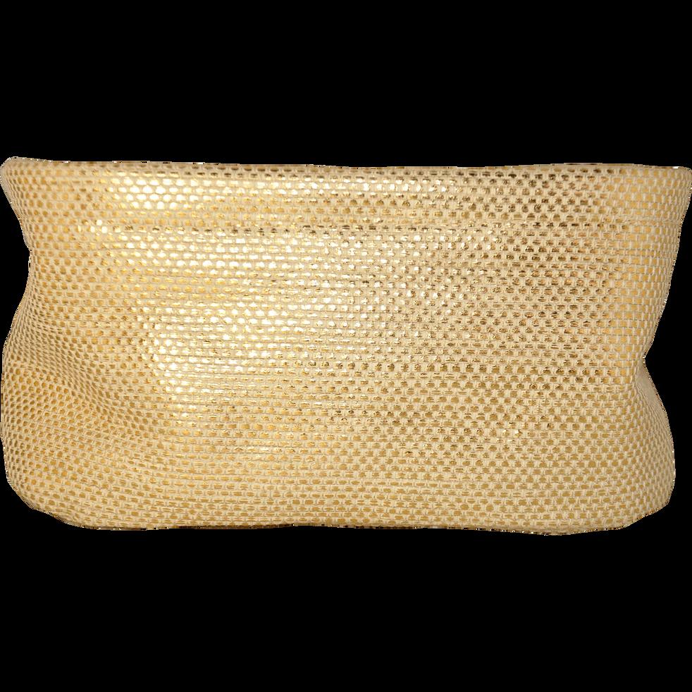Panier de rangement rectangulaire doré-ETINCELLE