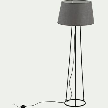 Lampadaire en métal - gris restanque-BLANDINE