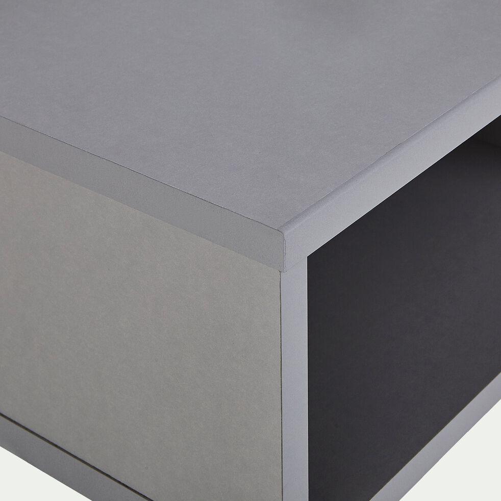 Chevet suspendu gris-CASTEL