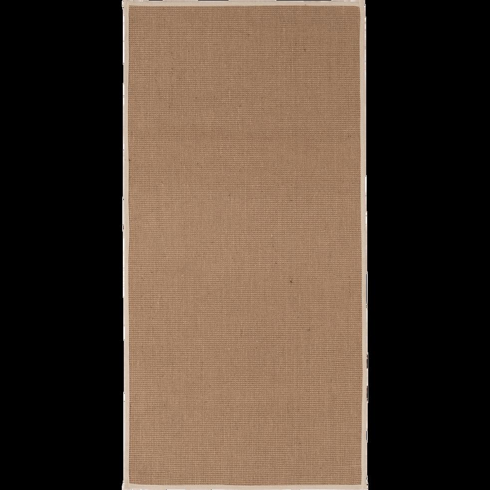 Tapis en jute 60x120cm-MAGNOLIAS