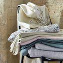 Rideau à œillets en lin - blanc ventoux 140x300cm-VALLON