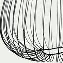 Suspension en métal noir D45xH45cm-CLAUDINE