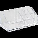 Organisateur de cosmétique transparent-Ice