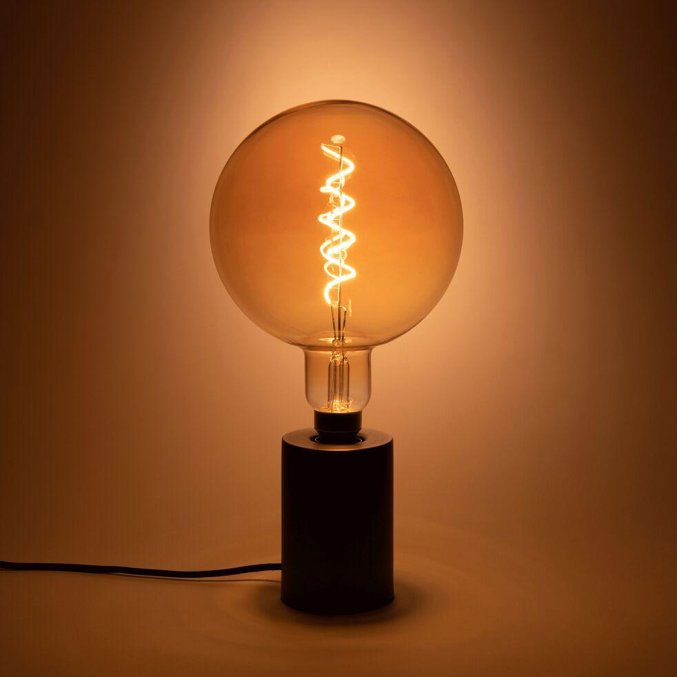 Ampoule décorative LED géante ambre D20cm culot E27-GLOBE