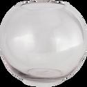 Vase boule transparent D30cm-CERS