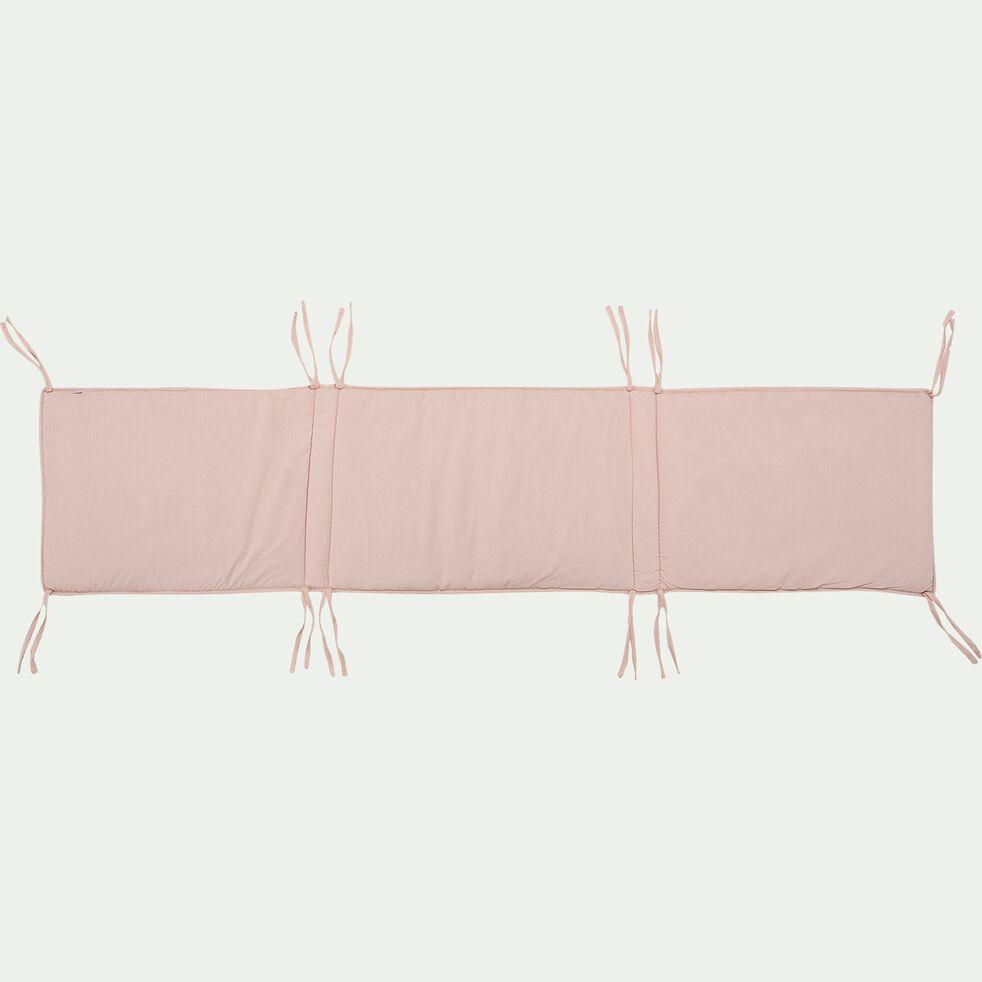 Tour de lit bébé en coton bio avec imprimé Sigean - multicolore-Sigean