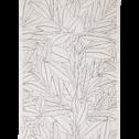 Tapis rectangulaire motifs laurier 160x230 cm-LAURIER