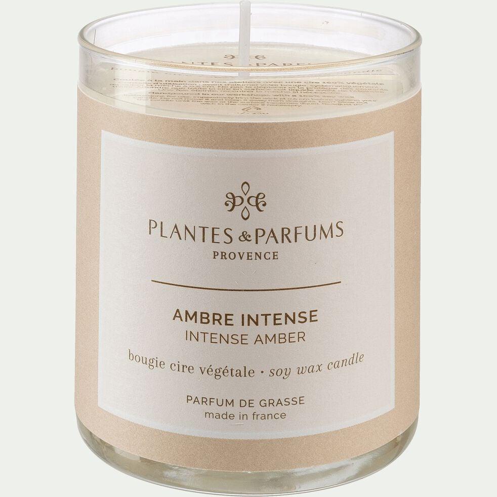 Bougie parfumée Ambre Intense 180g-AMBRE INTENSE