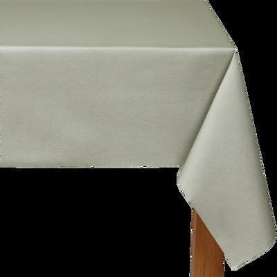 Nappe intissé vert olivier 160x240cm-SALERNE