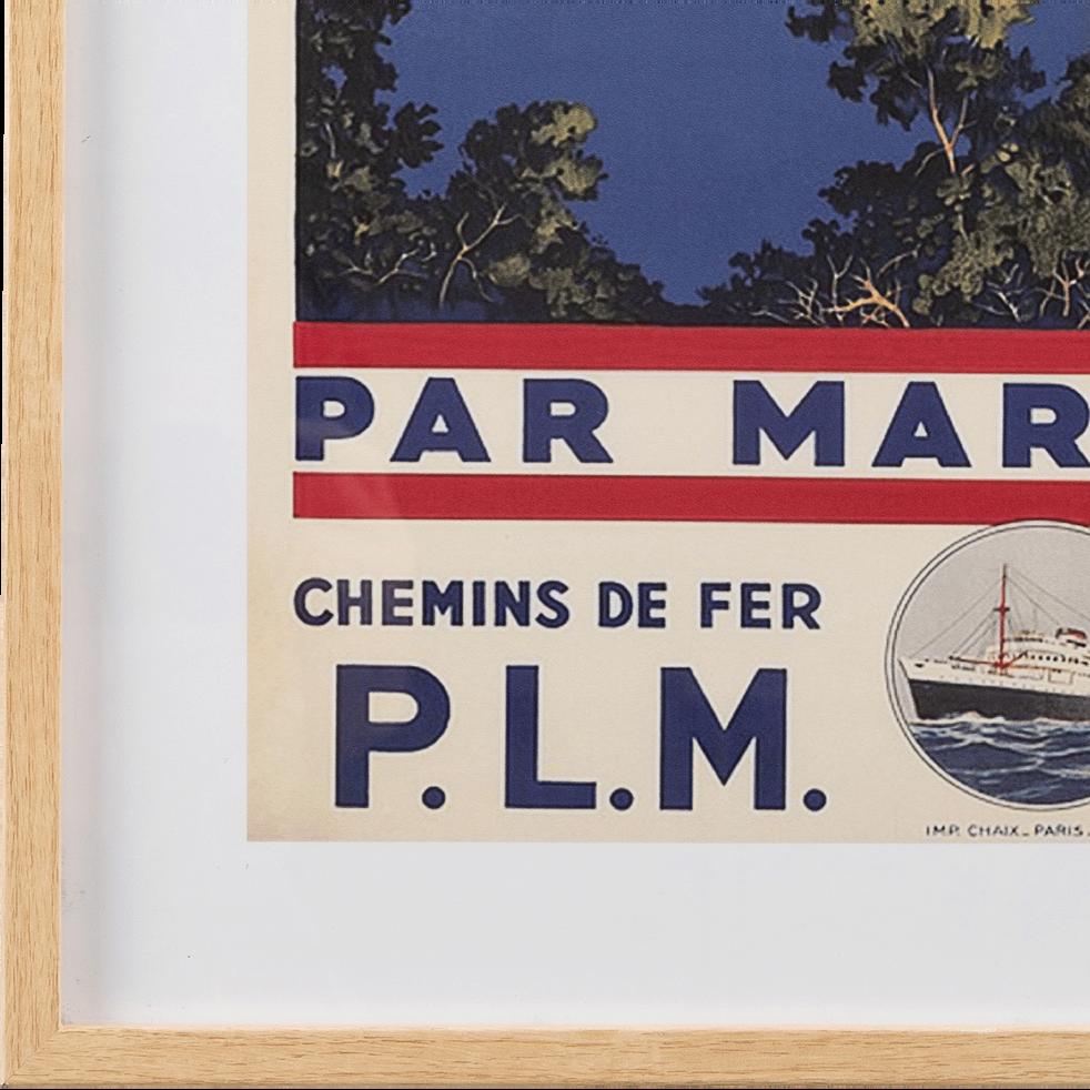 Image encadrée îles Baléares 53x73cm-PLM BALEARE